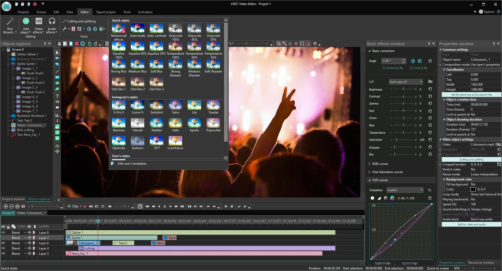 VSDC Video Editor Crack1