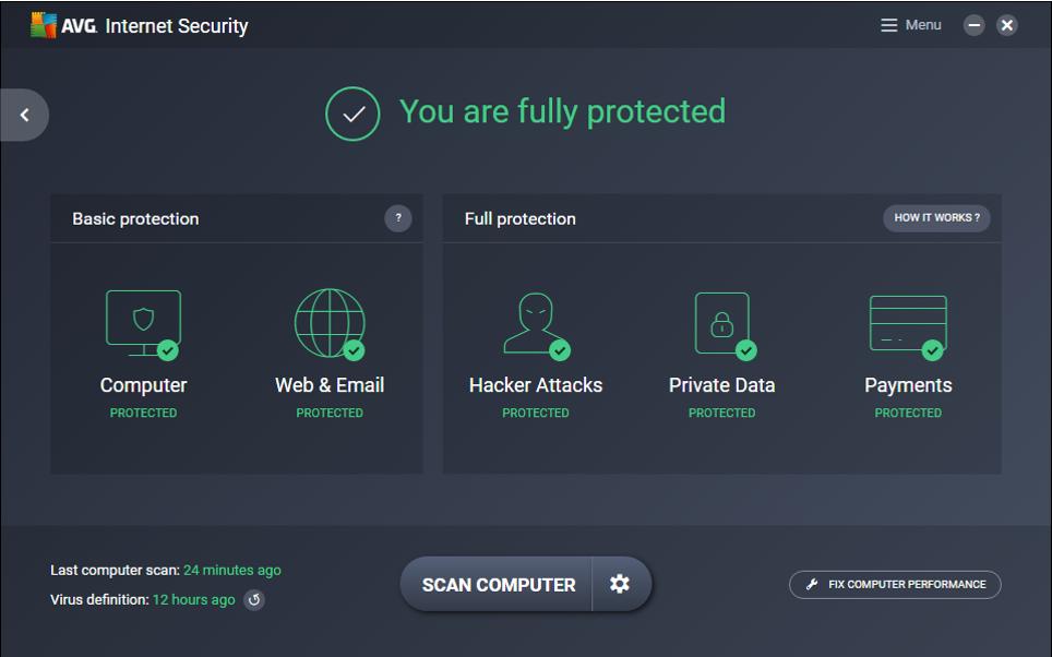 AVG Internet Security 2020 Crack1