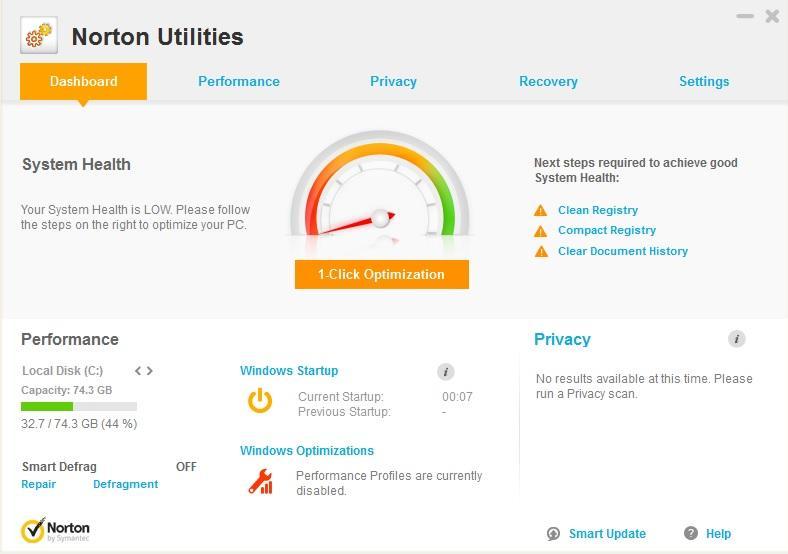 Symantec Norton Utilities Crack