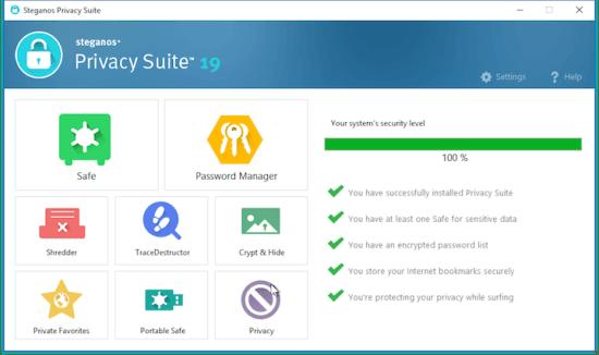 Steganos Privacy Suite Crack2